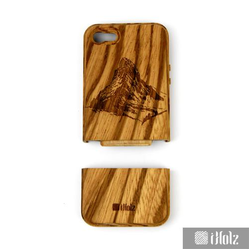 iphone 5 5s h lle cover aus zebraholz kaufen iphone. Black Bedroom Furniture Sets. Home Design Ideas